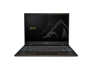"""Summit E13 FLIP 13.4"""" 2in1 Touch Laptop- i7-1185G7 - IRISXe - 16GB Memory - 512GB SSD - Win10 with MSI Pen - Ink Black (SUMMITE13023)"""