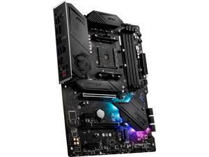 MSI - B550 GAMING PLUS (Socket AM4) USB-C Gen 2 AMD ATX GAMING Motherboard PCIE Gen 4 - Black (B550GPLUS)