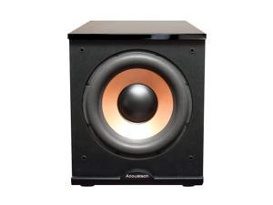 """BIC America - 12"""" 500W Powered Subwoofer - Black Lacquer (H-100II)"""