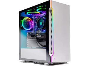 Skytech Archangel Gaming Computer PC Desktop - RYZEN 5 2600X 6-Core 3.6 GHz, GTX 1660 6G, 500GB SSD, 16GB DDR4 3000MHz, RGB Fans, Windows 10 Home