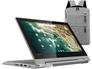 "2021 Lenovo Chromebook Flex 11"" 2-in-1 Convertible Laptop, 11.6-Inch HD Touch Screen, MediaTek MT8173C Quad-Core Processor, 4GB LPDDR3, 32GB eMMC, Webcam, Chrome OS /Legendary Accessories"