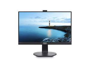 """AOC Brilliance 241B7QPJKEB/27 23.8"""" Full HD 16:9 LCD Monitor with PowerSensor, Textured Black (276B1)"""