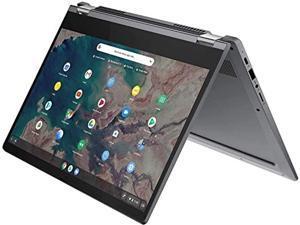 "2021 Lenovo Chromebook Flex 5 13.3"" FHD 1080p Touchscreen Laptop, Intel Core i3-10110U Processor, 4GB DDR4 RAM, 64GB SSD, Wi-Fi 6, Bluetooth 5.0, Webcam, Chrome OS, Graphite Gray, W/ IFT Accessories"