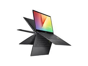 ASUS VivoBook Flip 14 Thin and Light 2-in-1 Laptop, 14? FHD Touch, 11th Gen Intel Core i3-1115G4, 4GB RAM, 128GB SSD, Thunderbolt 4, Fingerprint, Windows 10 Home in S Mode, Indie Blac (TP470EA-AS34T)