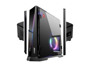 MSI MPG Trident AS 10SC-1208US SFF Gaming Desktop, Intel Core i7-10700F, GeForce RTX 2060 Super, 16GB Memory, 1TB SSD, WiFi 6, USB Type-C, Windows 10 Home, Black (TRIDENTAS1208)