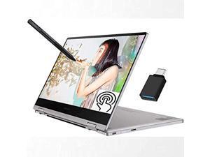 "Samsung Notebook 9 Pro 2-in-1 2020 Premium Laptop, 13.3"" Full HD Touchscreen, 8th Gen Intel Quad-Core i7-8565U, 16GB DDR4 2TB SSD, Thunderbolt Backlit KB Fingerprint Win 10 + USB C Toggle"