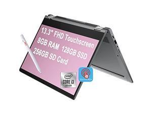 """Flagship 2021 Lenovo Flex 5 2 in 1 Chromebook Computer 13.3"""" FHD Touchscreen 10th Gen Intel Core i3-10110U (>i5-7200U) 8GB DDR4 128GB SSD 256G SD Card Webcam Backlit ChromeOS + Pen"""