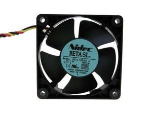 Nidec BETA SL D07A-12B2S1 3-Wire 12V 0.37A Fan