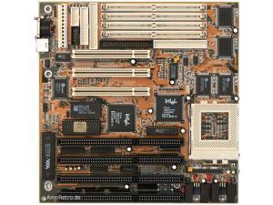 Biostar MB-8500TVX-A Ver 2.3 Motherboard Socket7 4-ISA 3 PCI
