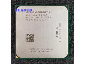 Used - Very Good: AMD Athlon II X4 640 3 0 GHz Socket AM3 ADX640WFGMBOX  Desktop Processor - Newegg com