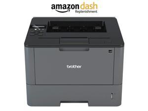 Brother Monochrome Laser Printer, HL-L6200DW, Wireless Networking, Mobile Printing, Duplex Printing, Large Paper Capacity,  Dash Replenishment Enabled