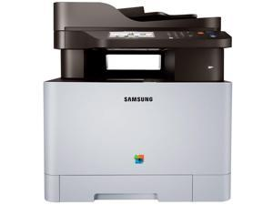 "Samsung Xpress C1860FW Color Laser MFP (19 ppm) (533 MHz) (256 MB) (8.5"" x 14"") (9600 x 600 dpi) (Max Duty Cycle 40000 Pages) (p/s/c/f) (USB) (Ethernet) (Wireless) (Touchscreen) (250 Sheet Input Tray)"