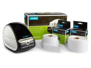 DYMO LabelWriter 450 Turbo Label Maker with Bonus LW White Address Labels, 1-1/8-In. x 3-3-1/2-In., Roll of 350