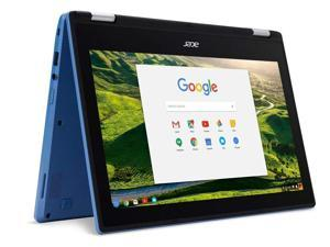 "Acer Chromebook R11 CB5-132T-C67Q Touch Screen Chromebook with Intel Celeron N3060 Processor, 11.6"" IPS Multitouch Screen 4GB Memory, 32GB SSD and Google Chrome OS (CB5-132T-C18Y)"