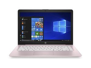 HP Stream 14-inch Laptop, AMD Dual-Core A4-9120E Processor, 4 GB SDRAM, 64 GB eMMC, Windows 10 Home in S Mode with Office 365 Personal for One Year (14-ds0040nr, Rose Pink)