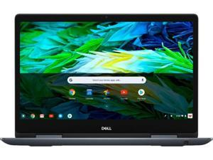 """Dell Inspiron 2-in-1 14"""" Full HD Touch-Screen Chromebook - Intel Core i3, 4GB Memory, 128GB eMMC Solid State Drive Urban Gray Chrome OS (C7486-3250GRY-PUS)"""