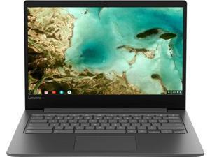 Lenovo 14 inch HD Premium Chromebook with 32GB MicroSD Card | Mediatek Quad-core Processor | 4GB RAM | 32GB eMMC | Wireless-AC | USB-C | HDMI | Webcam | Bluetooth | Chrome OS | Black