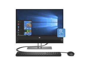 HP Pavilion 24-Inch All-in-One Computer, Intel Core i5-9400T, 12 GB RAM, 512 GB Solid State Drive, Windows 10 (24-Xa0032, Black)