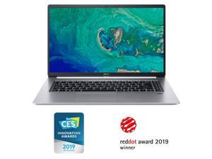 "Acer Swift 5 Ultra-Thin  and  Lightweight Laptop 15.6"" FHD IPS Touch Display in a thin .23"" bezel, 8th Gen Intel Core i5-8265U, 8GB DDR4, 256GB PCIe NVMe SSD, Back-lit Keyb (NX.H7QAA.001)"