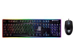 Cougar Deathfire EX Gaming Keyboard and Mouse Combination - Multicolor Lighting Effects