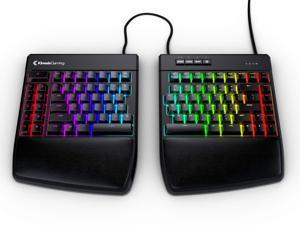 KINESIS Gaming Freestyle Edge RGB Split Mechanical Keyboard (MX Brown)
