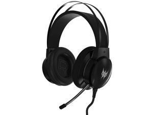Acer Predator Galea 300 Gaming Headset - TrueHarmony Technology, 40mm Driver Bio-cellulose, Retractable Omni-directional Microphone