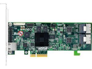 Areca 1203-8i 8-Port PCIe x4 to SATA RAID Adapter with miniSAS to miniSAS Cable