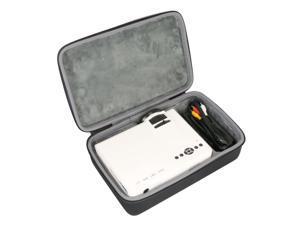 Hard Travel Case for Ragu Z400 Mini Projector Multimedia Home Theater Video Projector by co2CREA