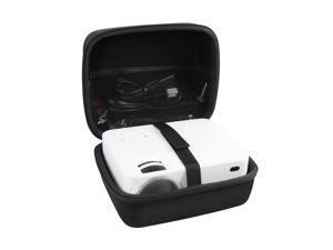 Hermitshell Hard EVA Travel Case fits TOPVISION / DBPOWER Mini Projector JPJJ0723 / T20 / T21 1500 Lumens LCD Mini Projector Multimedia Home Theater Video Projector
