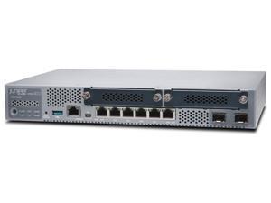 Juniper Networks - SRX320 - Juniper SRX320 Router - 6 Ports - PoE Ports - Management Port - 4 Slots - Gigabit Ethernet -
