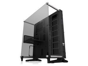 Thermaltake Core P5 Tempered Glass V2 Black Edition Open Frame Vertical GPU Modular ATX Computer Case CA-1E7-00M1WN-05