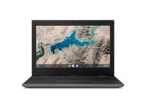 "Lenovo 100E Chromebook 2ND Gen Laptop, 11.6"" HD (1366 X 768) Display, MediaTek MT8173C Processor, 4GB LPDDR3 RAM, 16GB eMMC TLC SSD, Powervr GX6250, Chrome OS, 81QB000AUS (81QB000AUS)"