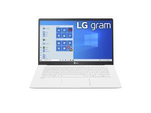 "LG Gram Laptop - 14"" Full HD IPS Display, Intel 10th Gen Core i5-1035G7 CPU, 8GB RAM, 256GB M.2 NMVe SSD, Thunderbolt 3,  18.5 Hour Battery Life - 14Z90N (2020)"