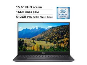 "Dell Vostro 7590 15.6"" Full HD Screen Laptop, Intel Core i7-9750H Up to 4.5GHz, NVIDIA GeForce GTX 1050, 16GB DDR4 RAM, 512GB PCIe SSD, Wireless-AC, HDMI, USB Type-C, USB 3.1, Windows 10 Pro, Gray"