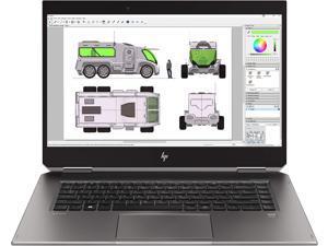 "HP 4NL02UT Zbook Studio X360 G5 15.6"" Touchscreen LCD 2 in 1 Mobile Workstation - Intel Core i5 (8th Gen) i5-8300H Quad-Core , 15-15.99 inches"