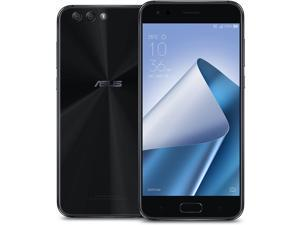 ASUS ZenFone 4, 5.5-inch, FHD IPS, 4GB RAM, 64GB storage Dual SIM, Unlocked Cell Phone, Midnight Black (ZE554KL-S630-4G64G-BK)