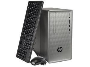 HP Pavilion 590-p0081c Core i5-8400 Six-Core 2.8GHz 12GB 1TB+16GB Optane DVD±RW Radeon RX 550 W10H Desktop PC w/ WiFi