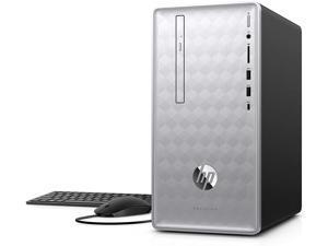 HP Pavilion Desktop 590-p0027c Intel Core i5-8400 2.8GHz 8GB DDR4 2TB HDD + 16GB DVD Writer Intel UHD Graphics Windows 10