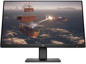 "HP X24i 23.8"" LED 1920 x 1080 IPS FHD Gaming Monitor 144Hz Refresh Rate 350 nits 1ms Response 16:9 Anti-Glare 1000:1 Low Blue Light Mode HDMI Display Port - Black"