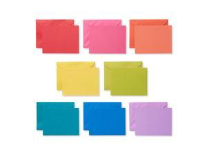 American Greetings Single Panel Blank Cards with Envelopes, Rainbow (200-Count) - 5503990