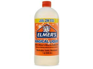 Elmers Glue Magical Liquid Activator Solution, 1 Quart, for Making Slime, Clear