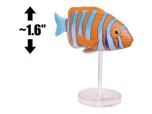 "Kidrobot Mammoth [Fish Center]: ~1.6"" x Adult Swim Mini Figure [Uncommon]"