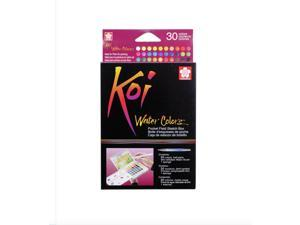 Koi Watercolor Field Sketch Bx 30 Pc Set