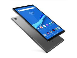 """Lenovo Tab M10 Plus Tablet, 10.3"""" FHD Android Tablet, Octa-Core Processor, 128GB Storage, 4GB RAM, Dual Speakers, Kid Mode, Face Unlock, Android 9 Pie, ZA5T0300US, Iron Grey"""