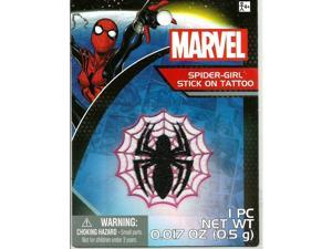 2 Marvel Spiderman Spider Body Jewelry Stick On Tattoo (6)