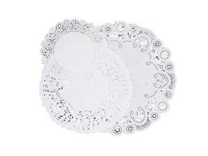 """Pacon Paper Doilies Assorted Sizes 4""""/6""""/8"""" 30/PK White 25500"""