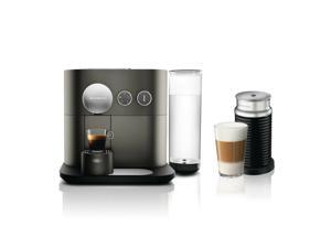 Nespresso Expert Original Espresso Machine with Aeroccino Bundle by DeLonghi