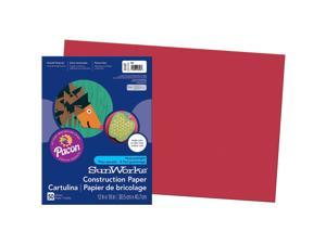 """Pacon Construction Paper Film Wrapped 12""""x18"""" 50Shts/PK RD 6107"""