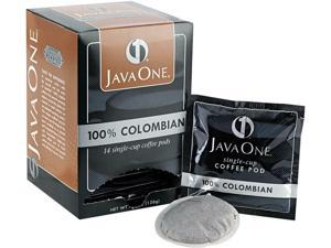 Java Trading Corporation 39830206141 Coffee Pods, Colombian Supremo, Single Cup,