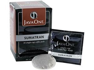 Java Trading Corporation 39860006141 Coffee Pods, Sumatra Mandheling, Single Cup